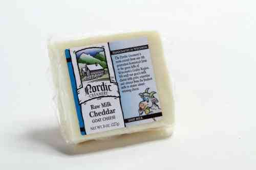 Raw Milk Goat Cheddar Cheese