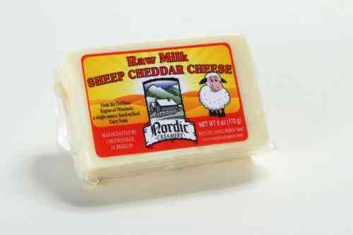 Raw Milk Sheep Cheddar Cheese