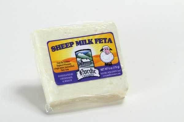 Sheep Milk Feta | Sheep's Milk Cheese | Nordic Creamery